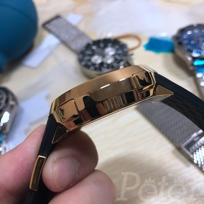 Gucci rose gold classic style battery movement full works C027