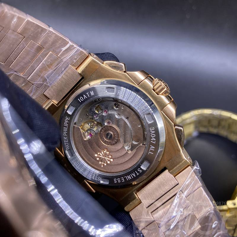 Patek rose gold AAA automatic black dial 40mm M030
