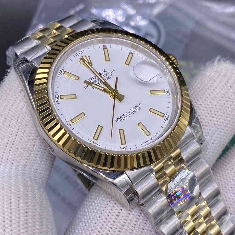 Datejust two tone gold SF factory 3235 movement jubilee band 39.5mm M120