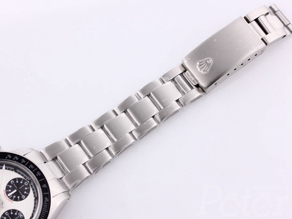 Daytona Paul Newman 37.5mm hands-winding 7750 movement silver/white M090