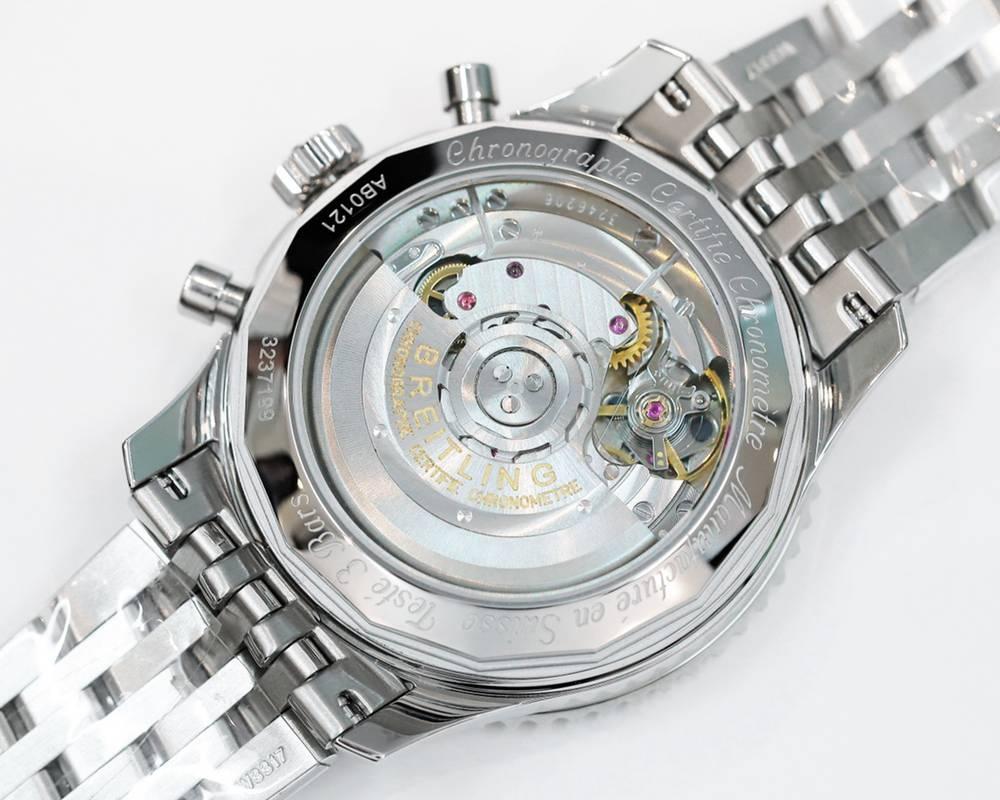 Breitling Navitimer 1 B01 Chronograph 7750 movement silver/black 43mm GF factory WSxxx
