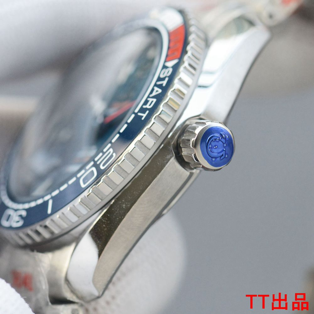 Omega blue dial AAA+ 8215 automatic movement 43.5mm WS050