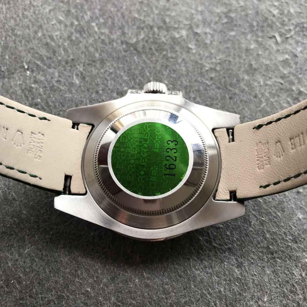 SUB green dial diamonds case 40mm V3 2824 top grade 904L steel men watch WT180