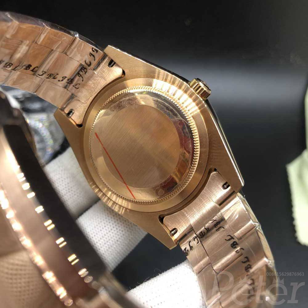 Sky-Dweller 41mm AAA automatic rose gold case gray dial S032