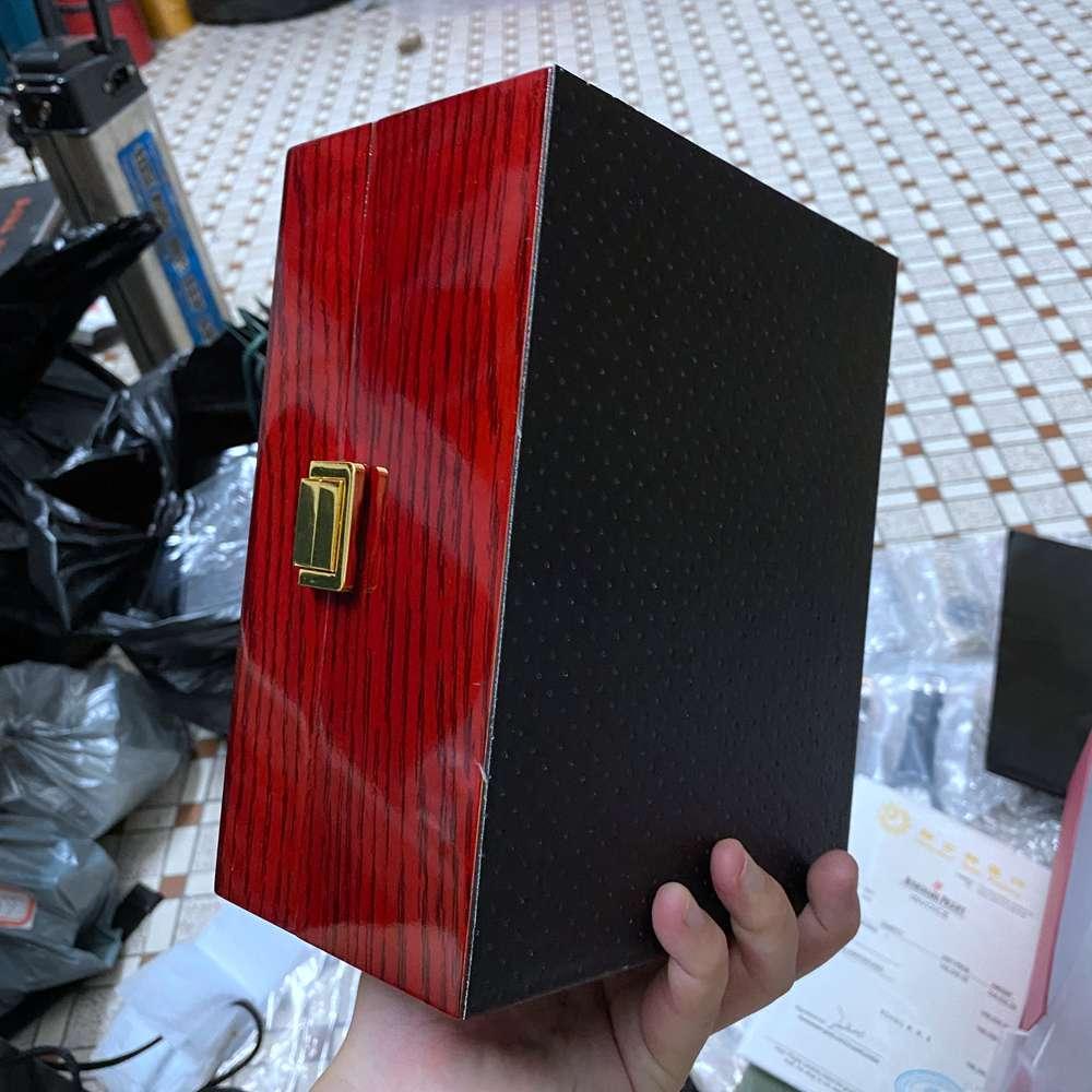 AP wooden red box #AP06