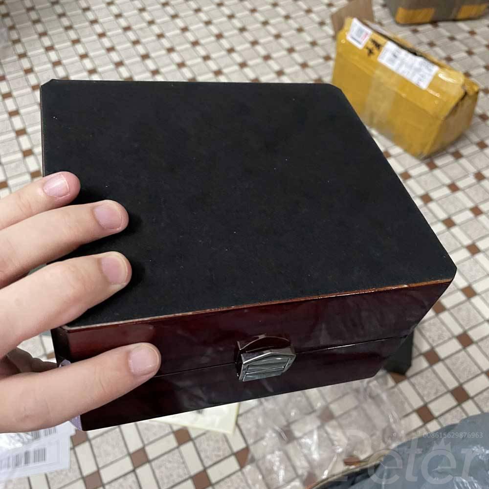 AP wooden red popular box #60AP
