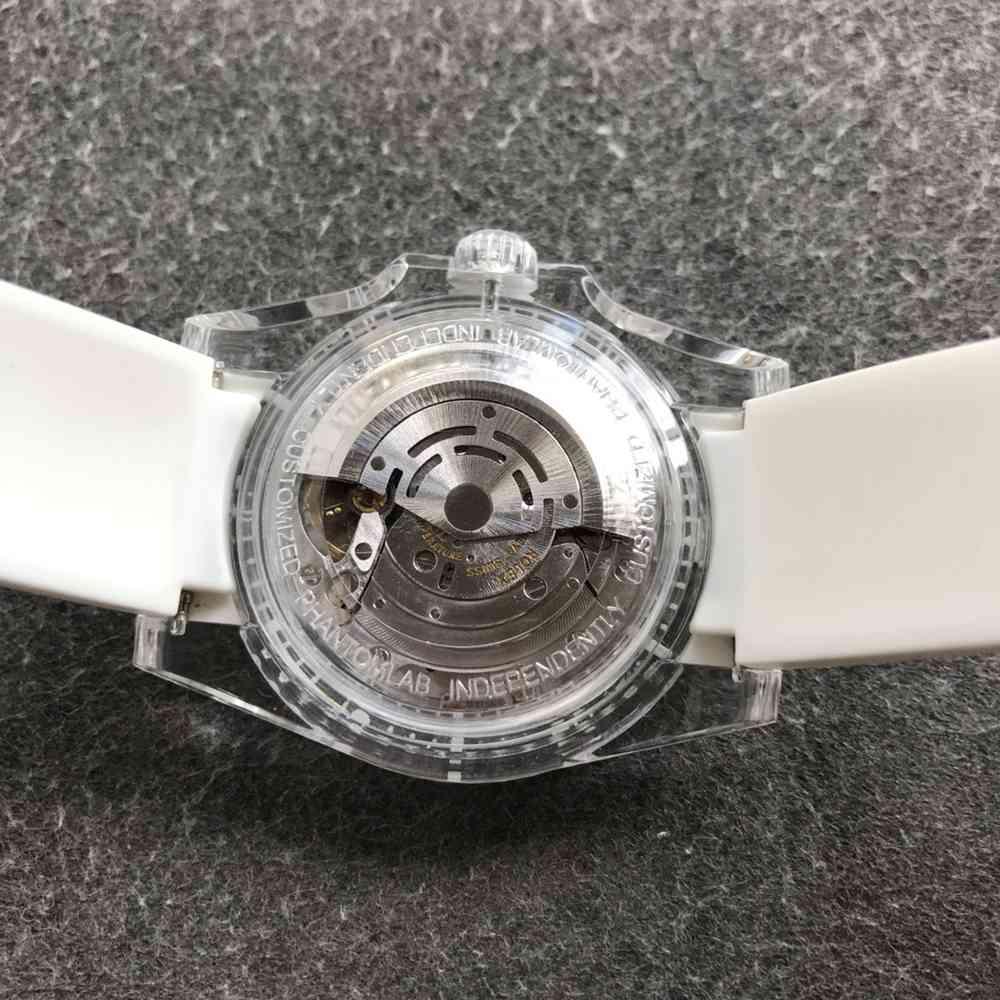 SUB Phantomlab PMMA crystal case GR factory 2021 new model 3135 movement WT220