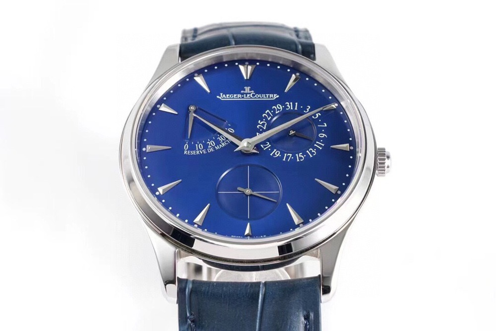 JL blue ZF factory Cal.938 automatic thin case 39x9.9mm blue leather WT