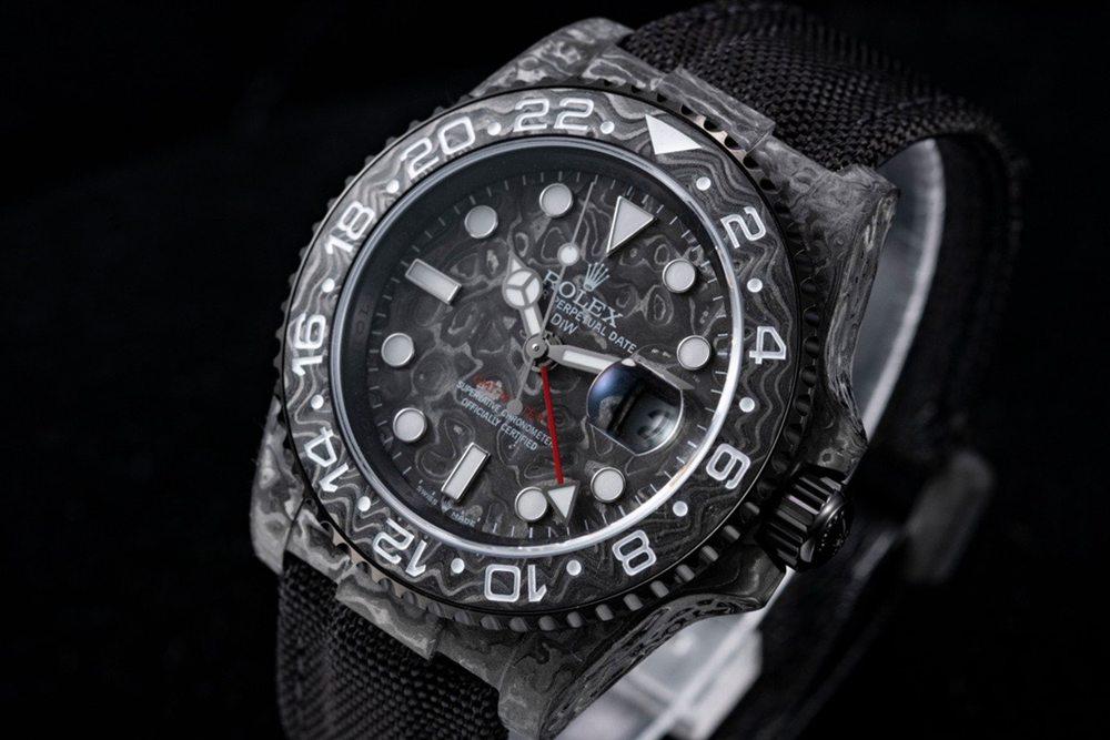 GMT Master II DiW JH 2021 Swiss grade Carbon fiber black 3186 movement best clone Mxxx