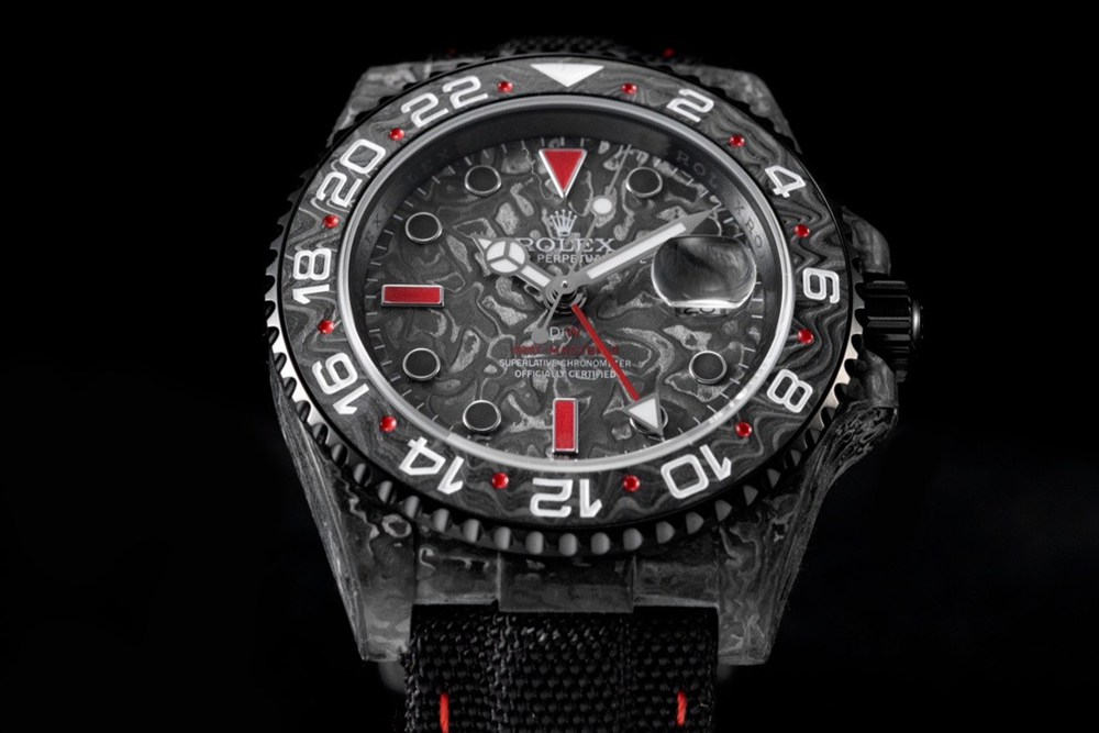 GMT DiW limited edition Carbon fiber JH 2021 new model Cal.3186 top grade Mxxx