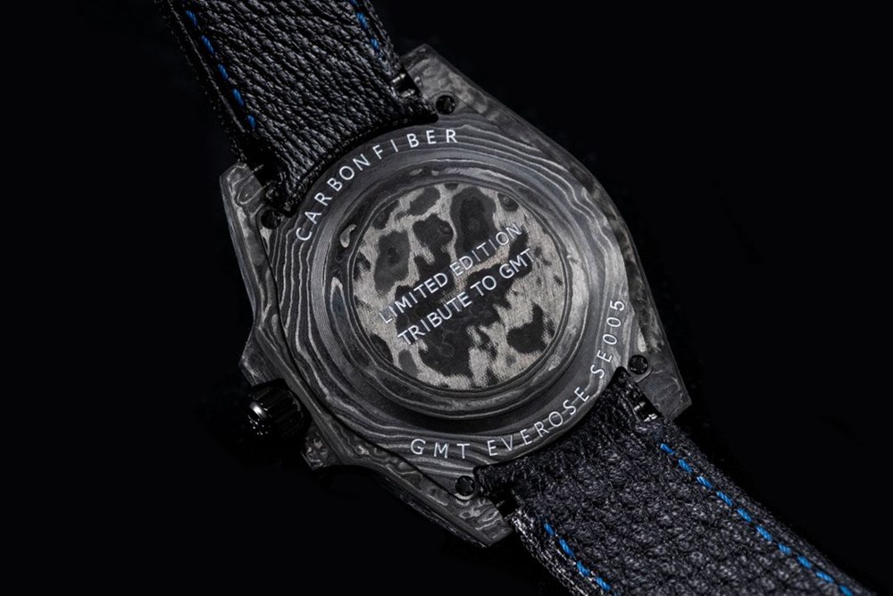 GMT-Master II DiW Swiss JH factory 3186 movement carbon black case 40mm Mxxx