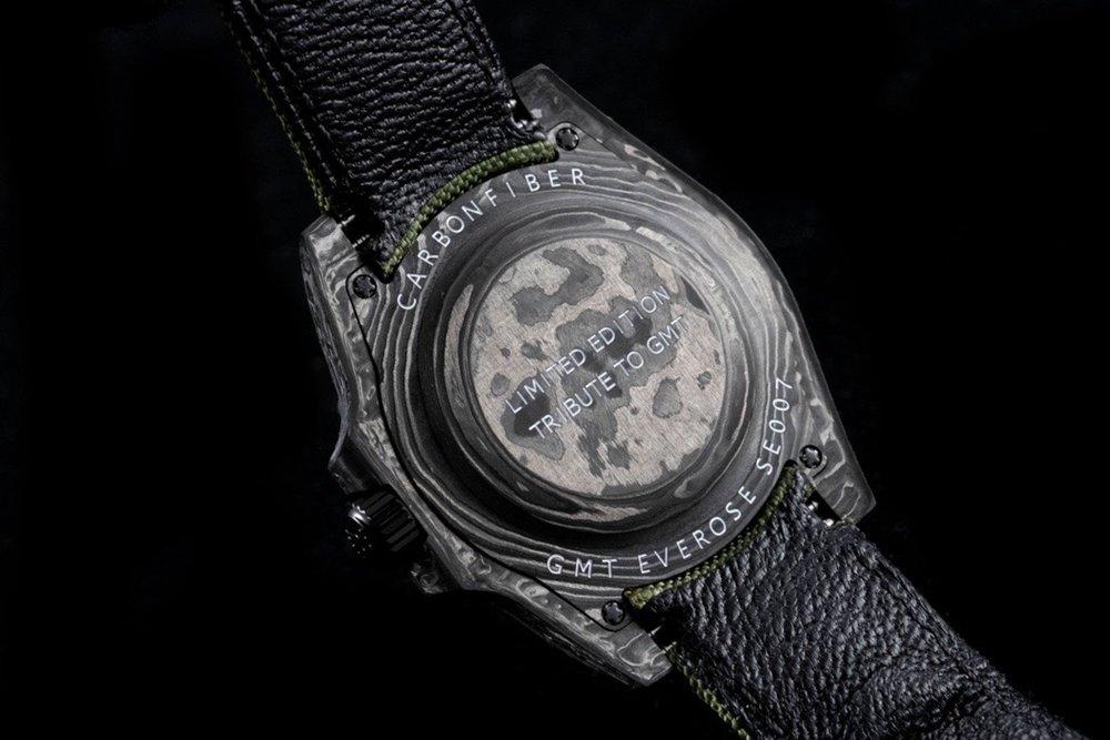 GMT Carbon black case 40mm green dial JH new model Cal.3186 movement nylon green strap Mxxx