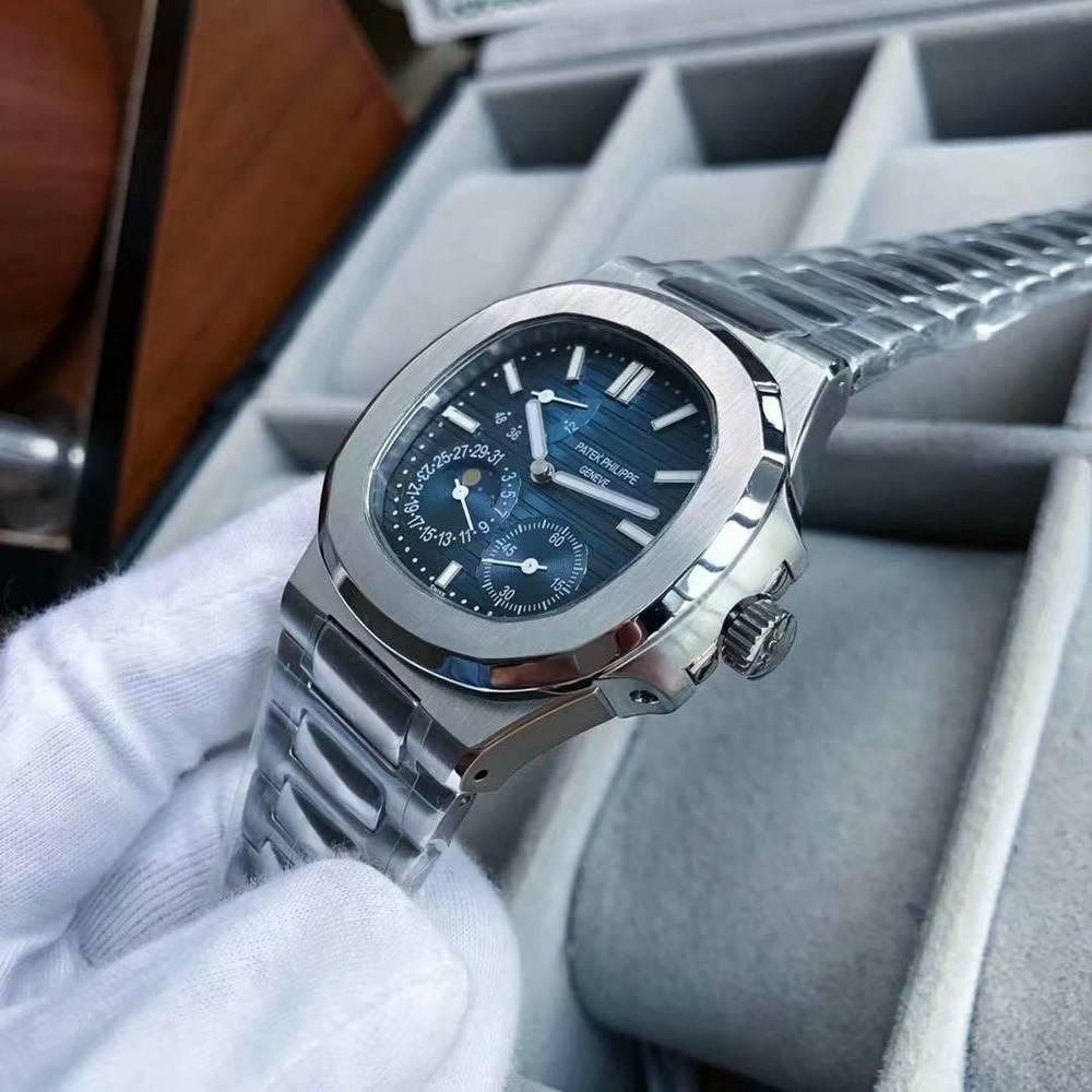 Patek Nautilus 5712A 40mm men mechanical movement blue and black dial WS058