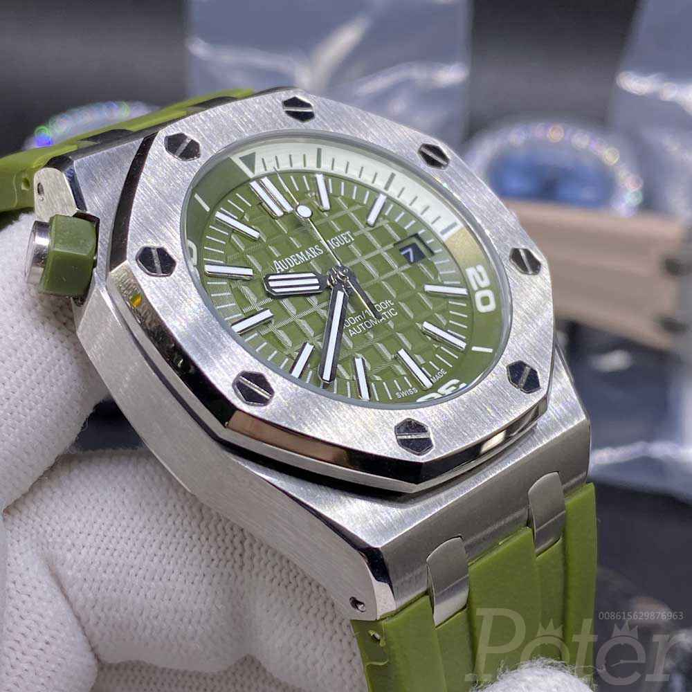 AP automatic Apricot face and Green face AAA grade stainless steel 42mm men watches BL026