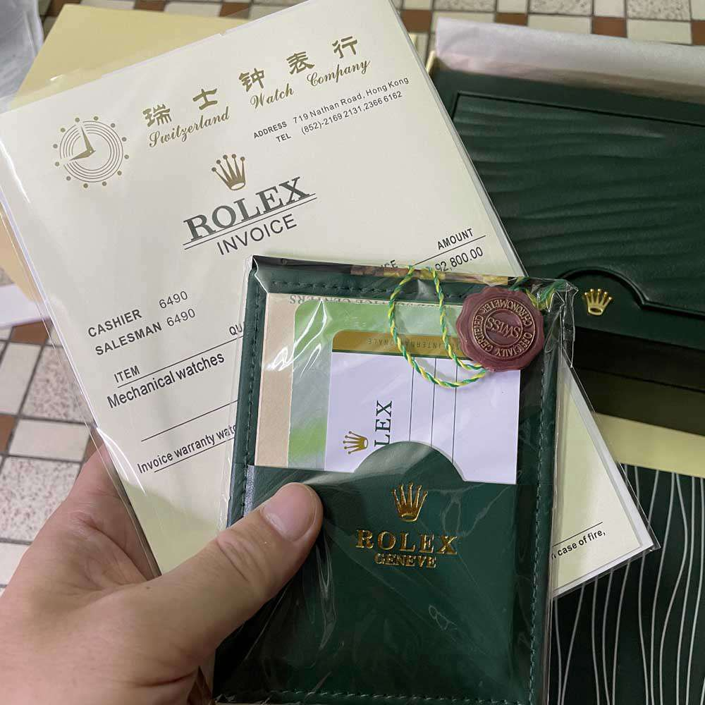 Rolex regular wooden box #035