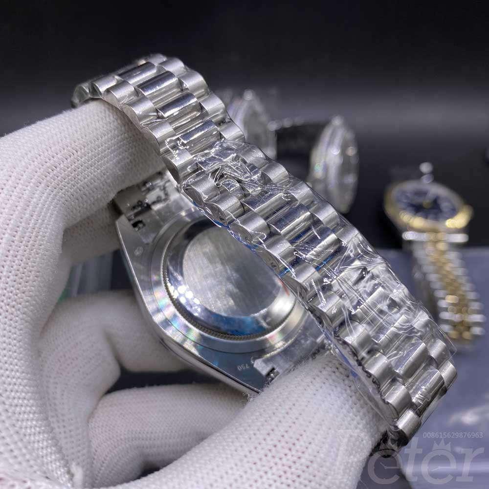 DayDate 41mm Meterite face baguette diamonds bezel AAA automatic men replica Rolex S032