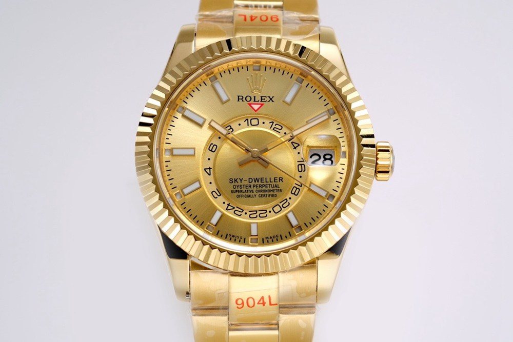 Sky-Dweller full gold 42mm full works sub-dial 9001 automatic M