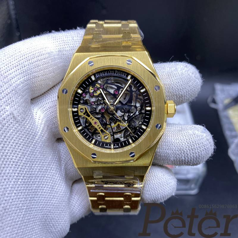 AP skeleton gold case 42mm automatic AAA YC041