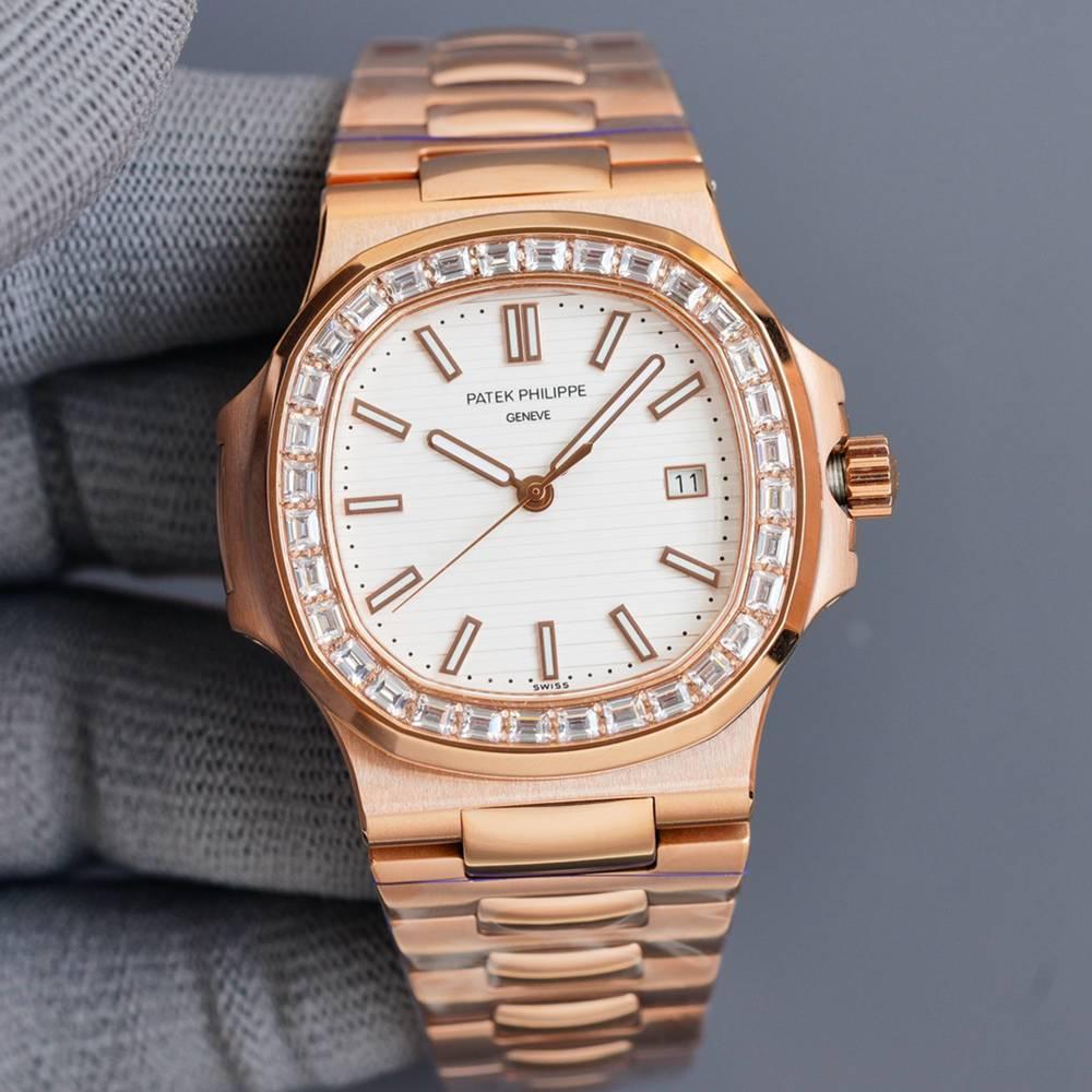Patek 5711/1A rose gold 40mm white/gray/black/blue dials automatic TT factory WS081