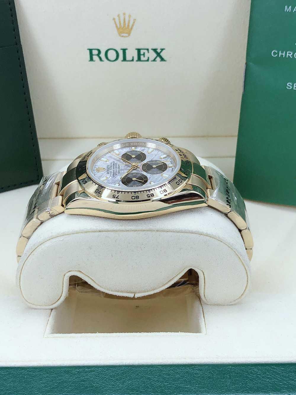 Daytona Meteorite face gold case 40mm AAA automatic 2813 movement men's luxury steel watch S